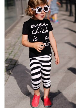 PIF PAF T-SHIRT EVER CHILD IS AN ARTIST