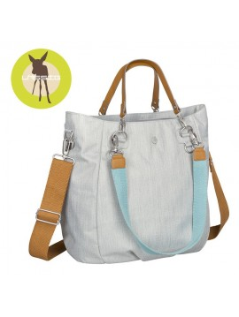 LASSIG GREEN LABEL TORBA Z AKCESORIAMI MIX'N MATCH LIGHT GREY