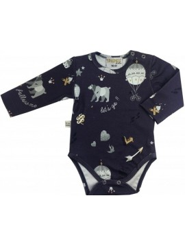 SPARKLE KIDS BODY ORGANIC COTTON FIOLETOWE